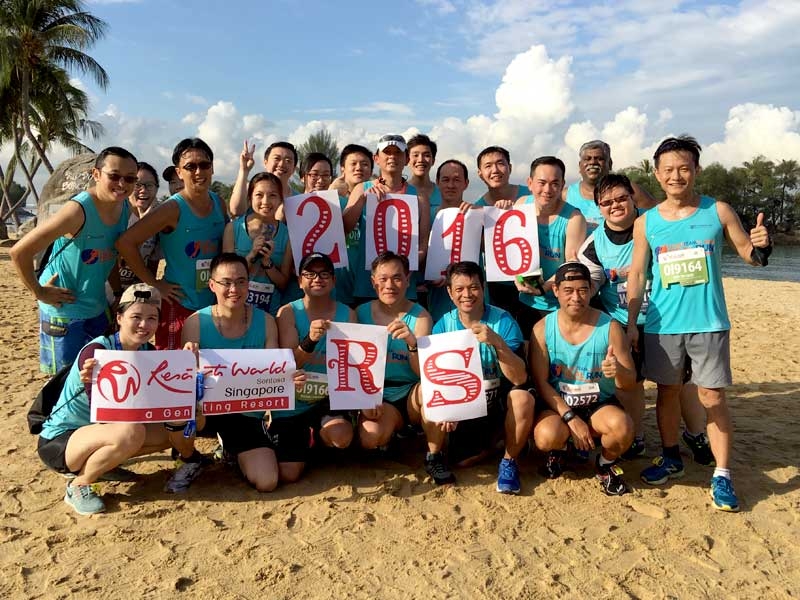 Resort Services takes on Real Run 2016