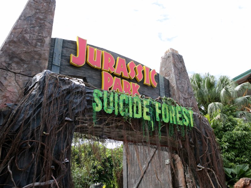 Suicide Forest HHN6