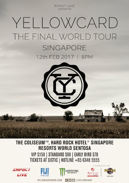 Past events arwsome simply titled yellowcard on 30 september 2016 via hopeless records the band will take their farewells on the road with the final world tour gumiabroncs Gallery