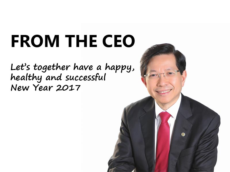 2017 New Year Message CEO