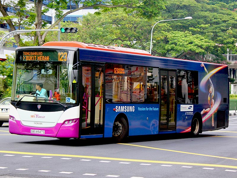 SBS 123 new route