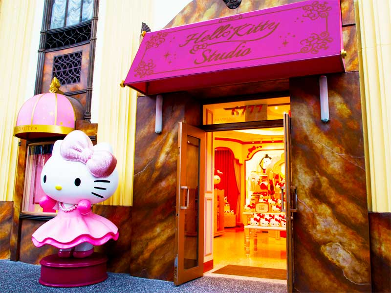 Hello Kitty Studio & Hollywood China Arcade