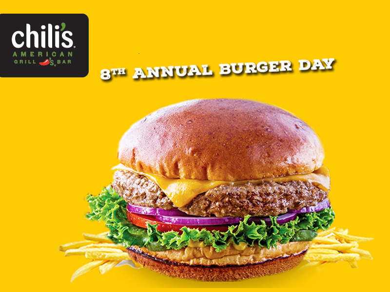 Chili's 8th Annual Burger Day